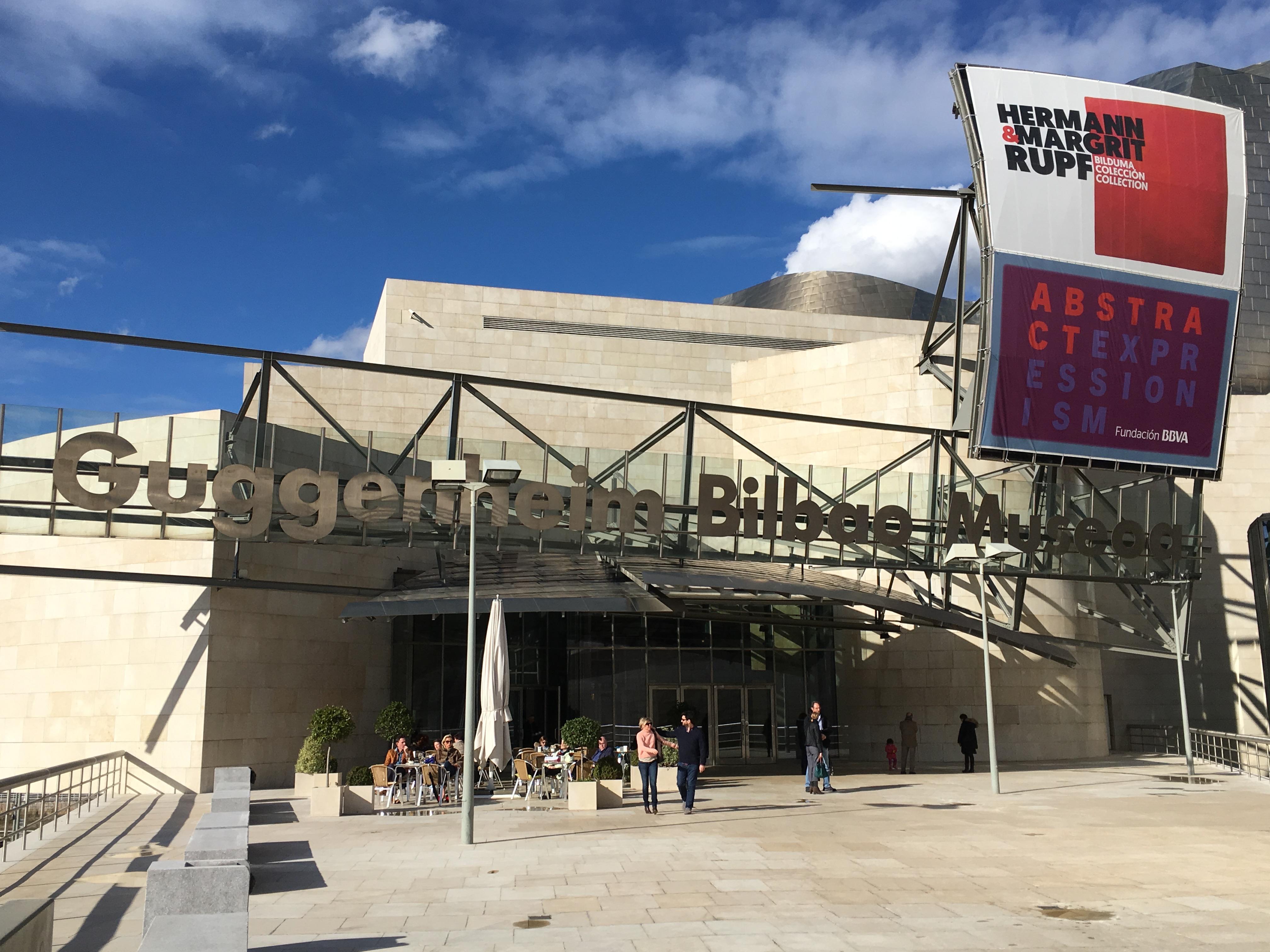 visiter Bilbao musée Guggenheim en mode basque