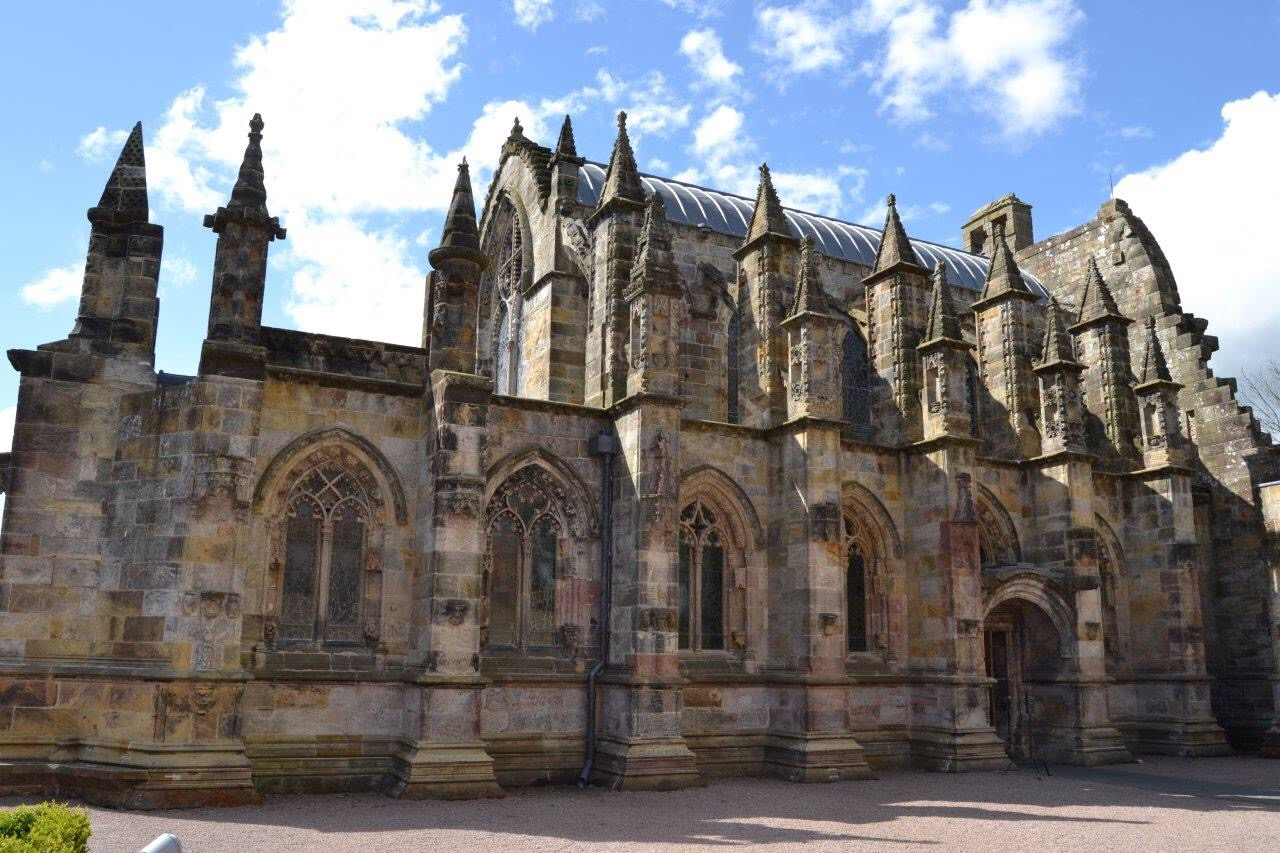 Mes vacances en Ecosse visite Rosslyn Chapel