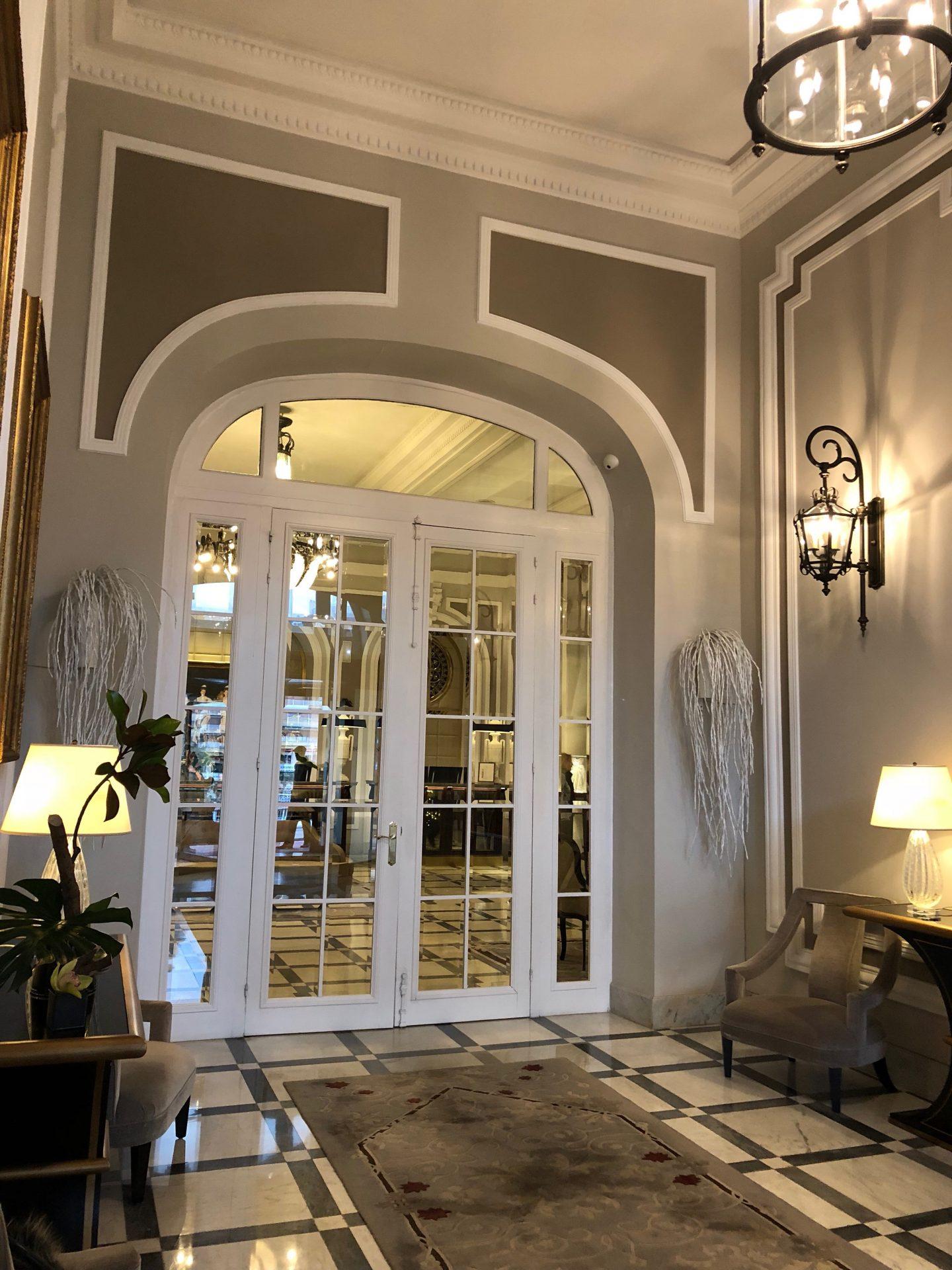 hotel Maria Christina san Sebastian Saint Sebastien