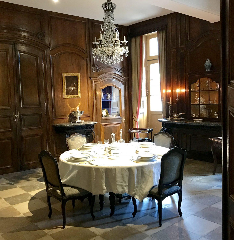 château de Laàs musée Serbat salle à manger