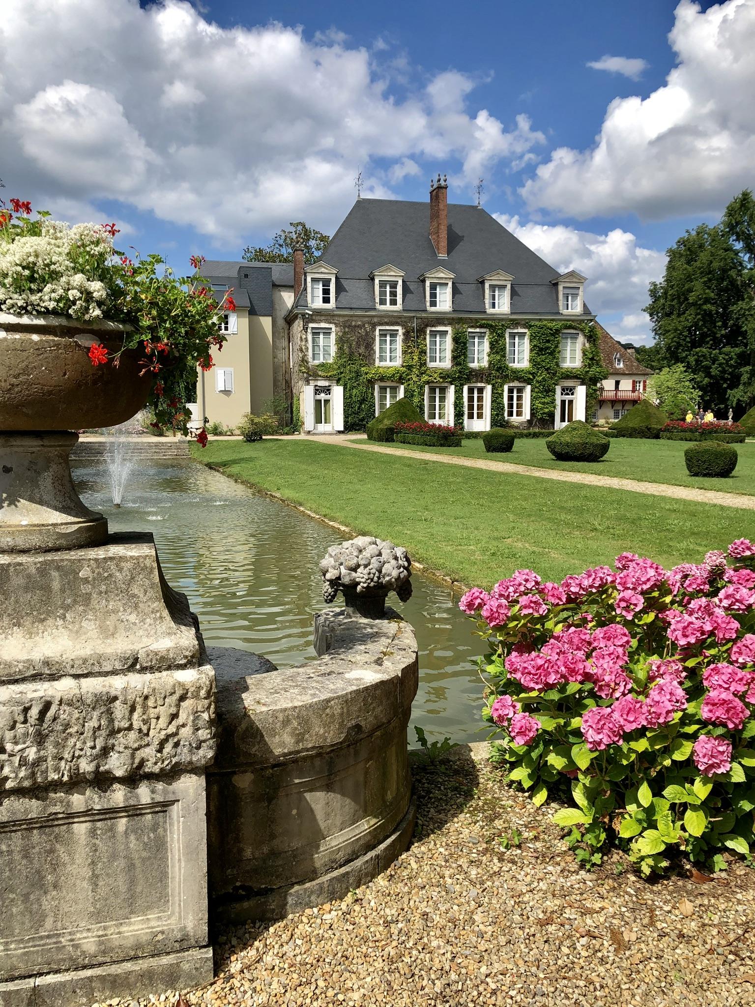 château de Laàs jardin parc