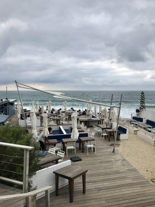 Blue cargo biarritz