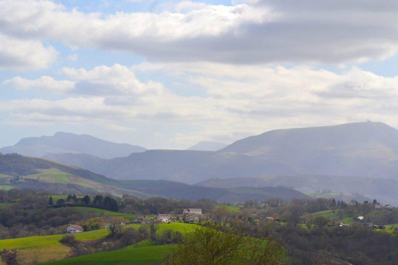 vue sur hasparren Pays Basque