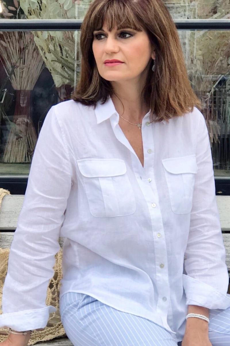 comment porter la chemise blanche