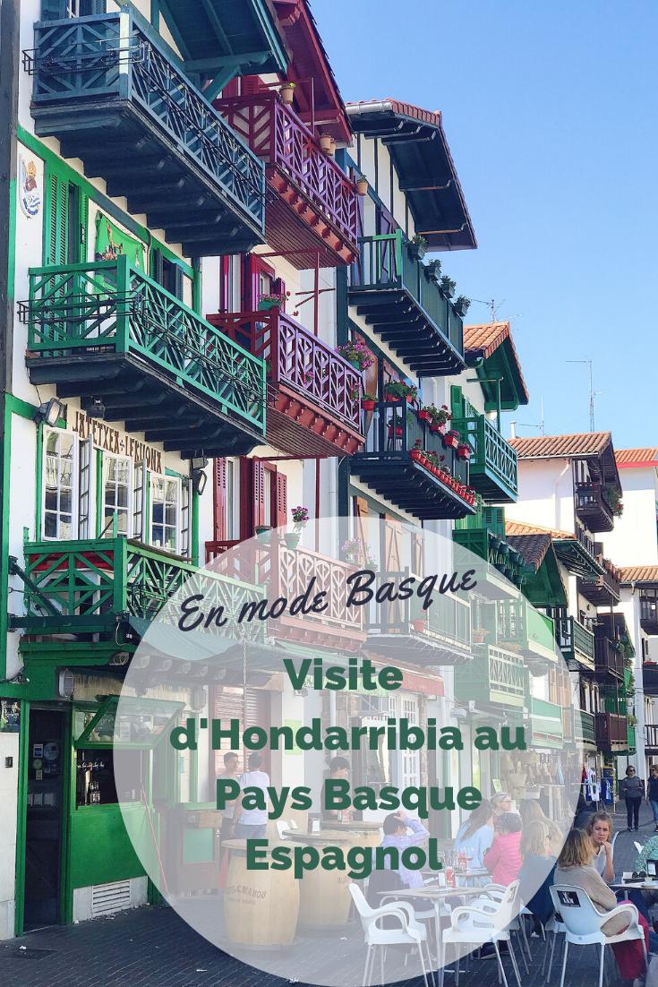 quoi faire à Hondarribia au Pays Basque Espagnol
