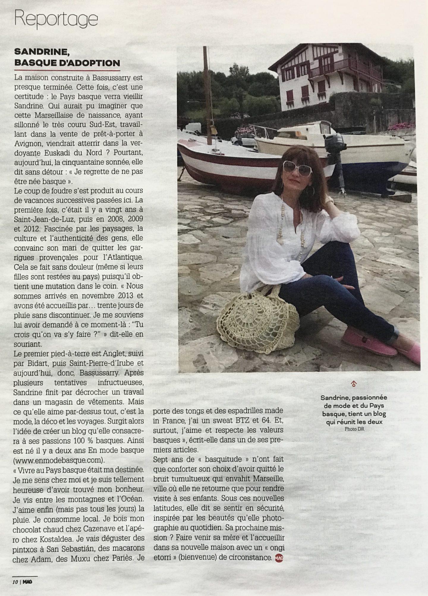 changer de vie et s'installer au pays Basque