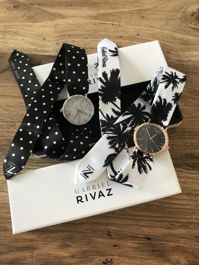 montre foulard Gabriel Rivaz