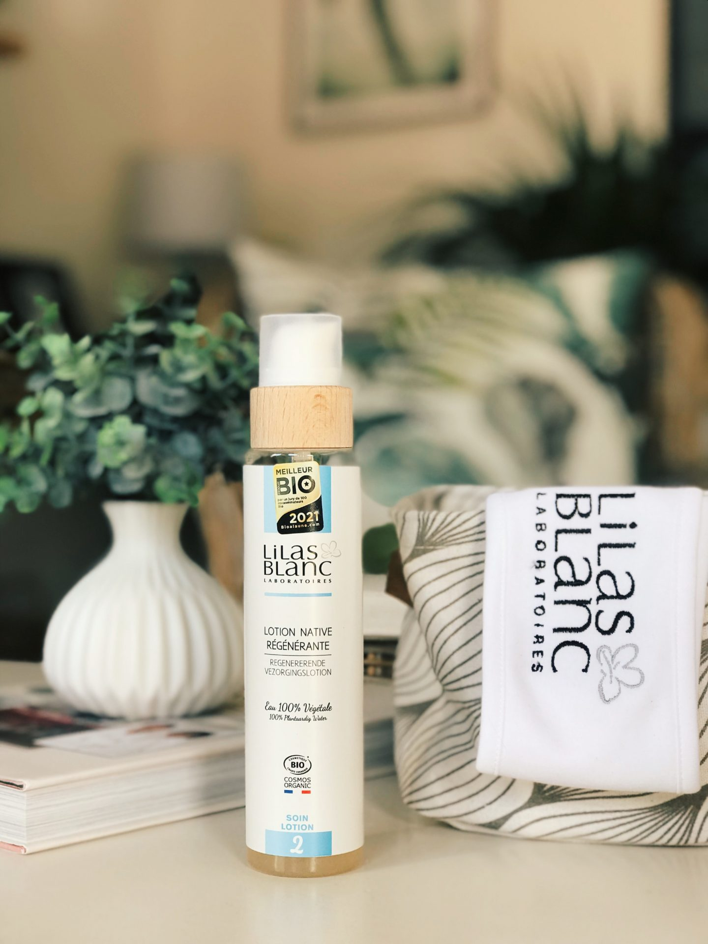 cosmétiques anti-âge bio Lilas Blanc