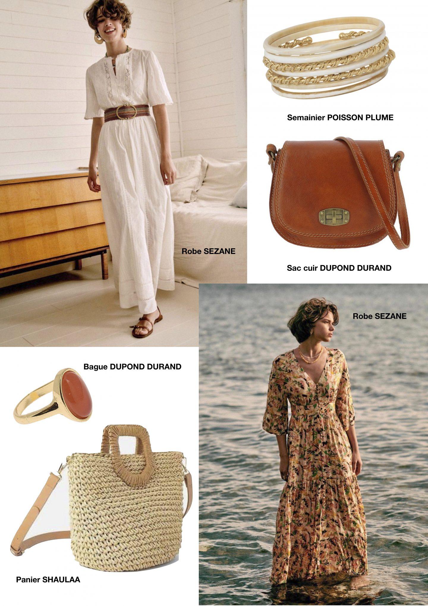 idées de look élégants pour des vacances au bord de la mer
