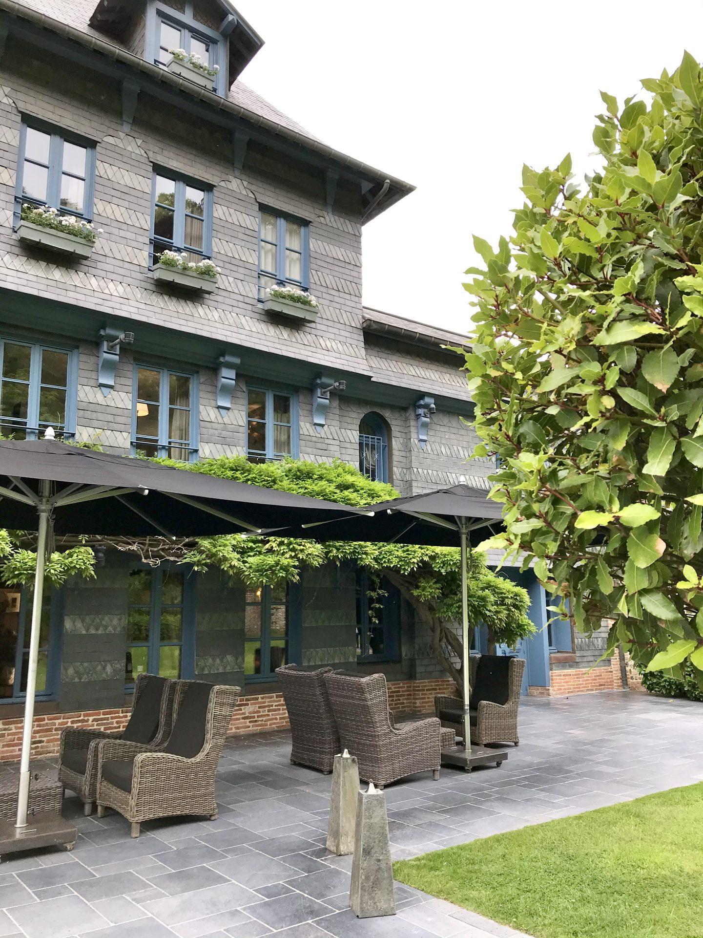 hôtel de luxe à Honfleur