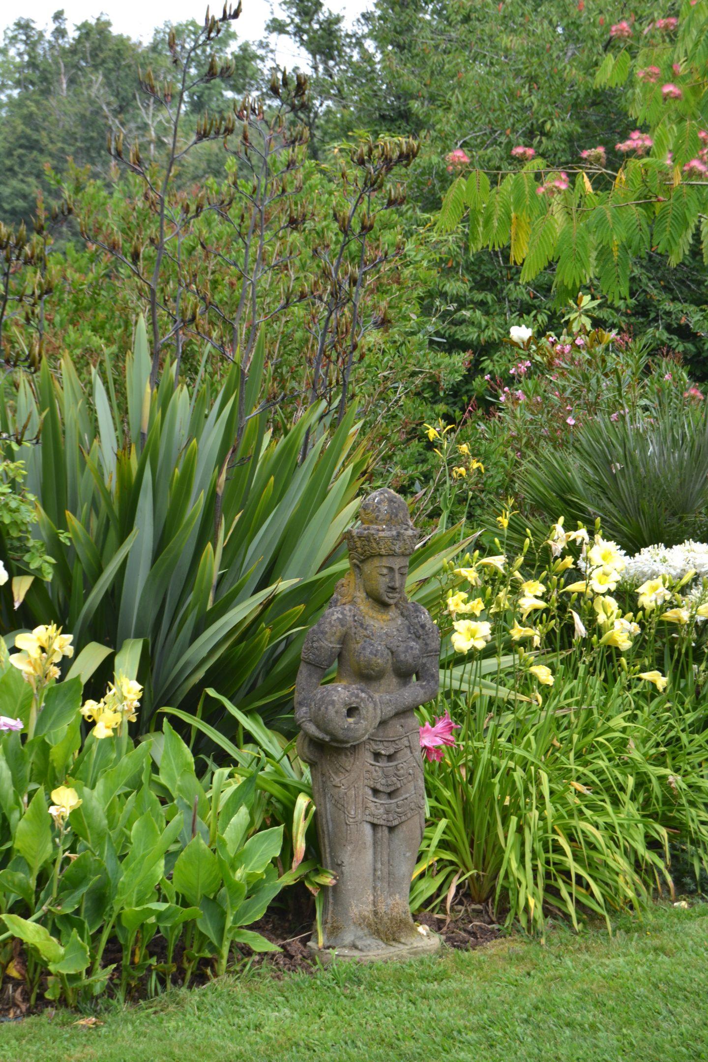 visite du jardin des barthes dans les landes