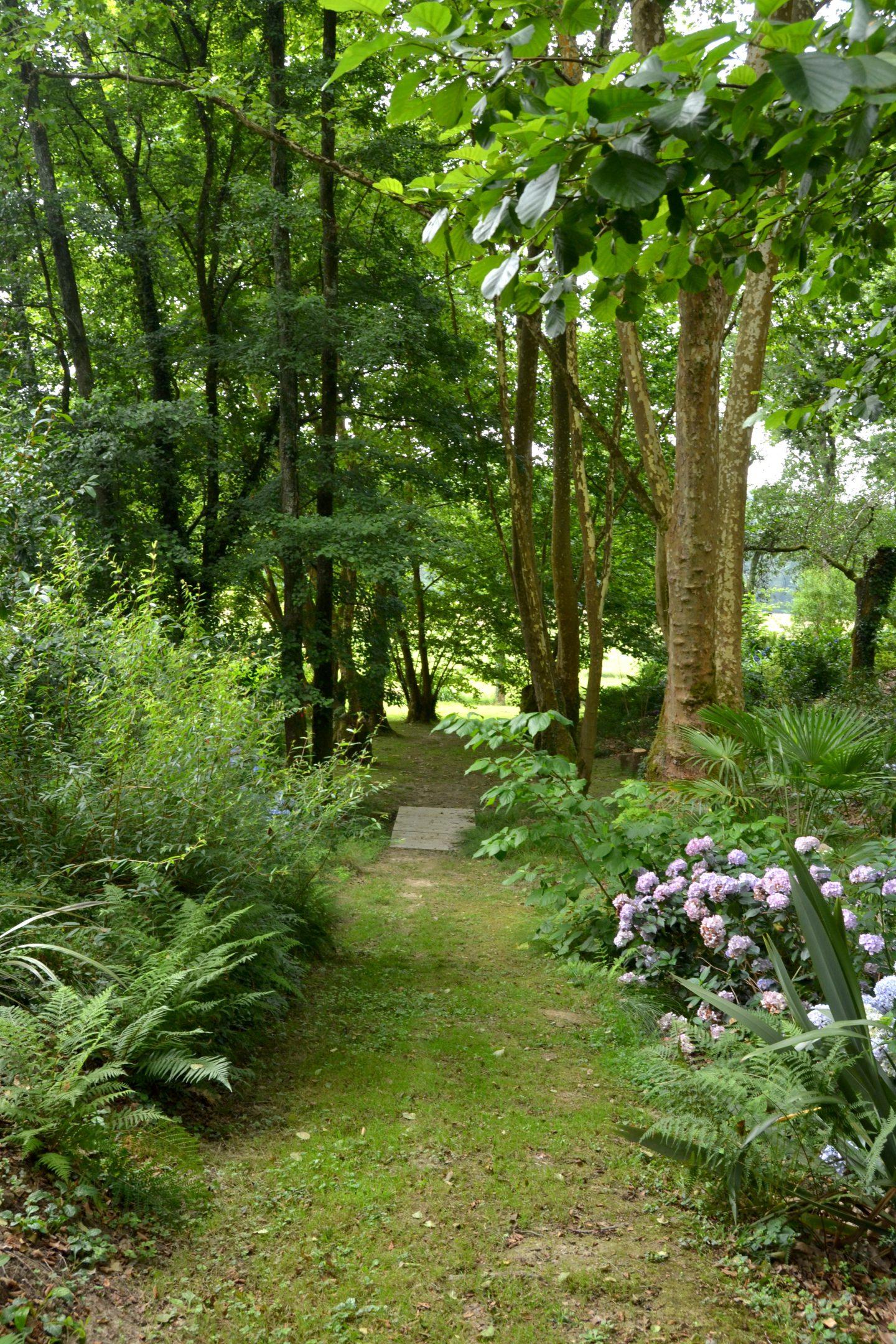visiter le jardin des barthes dans les landes