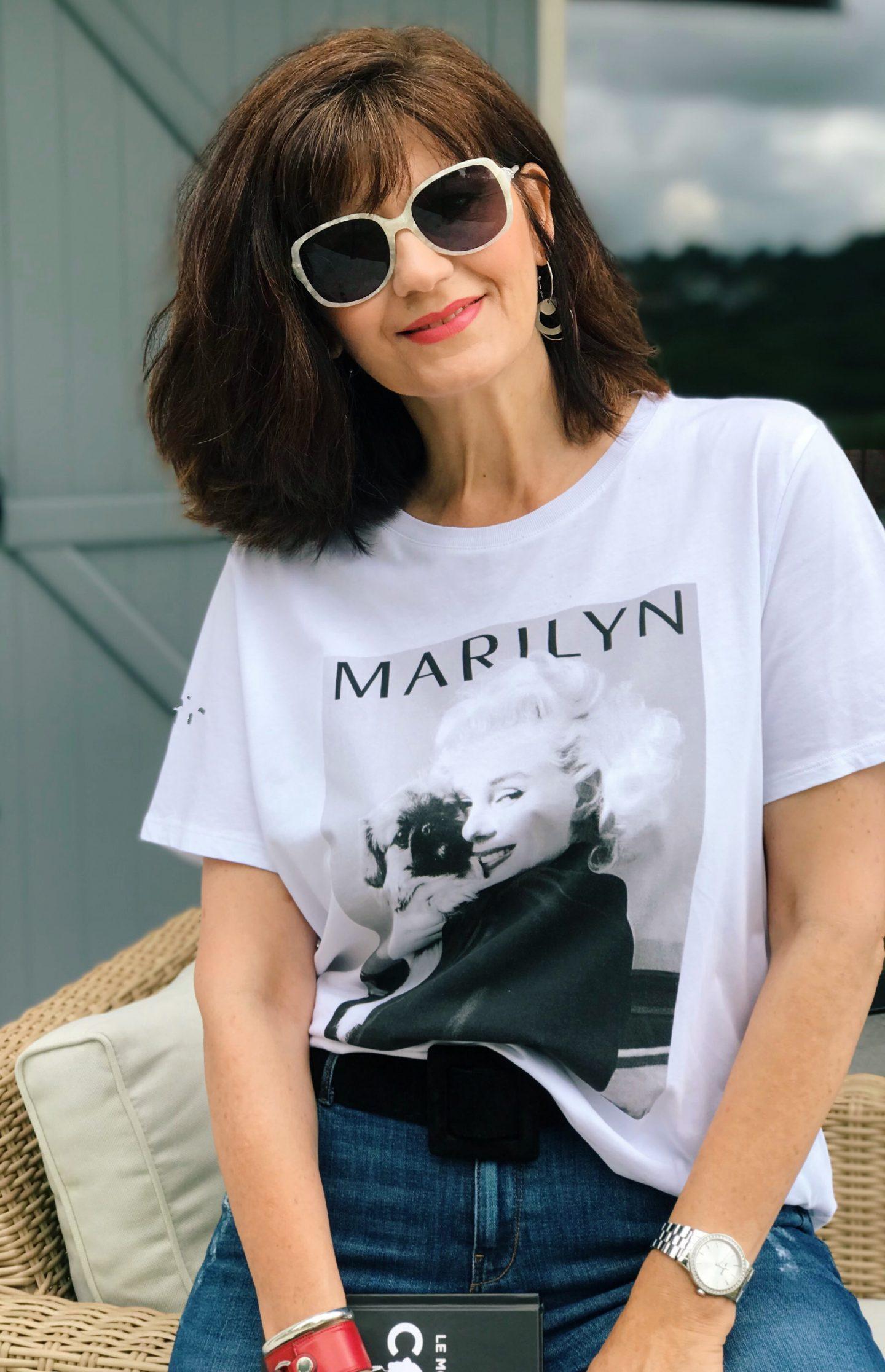 tee-shirt marylin Monroe