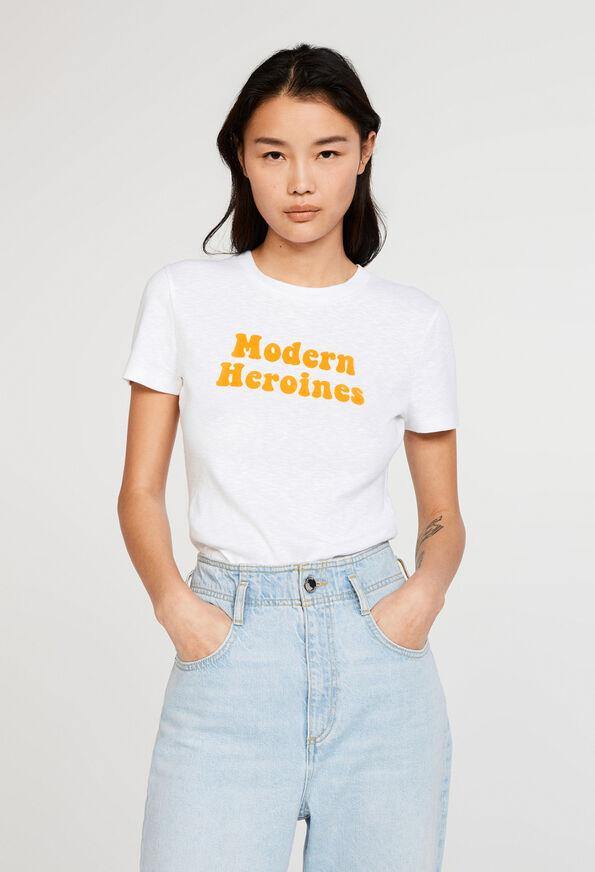 tee-shirt stylé et engagé