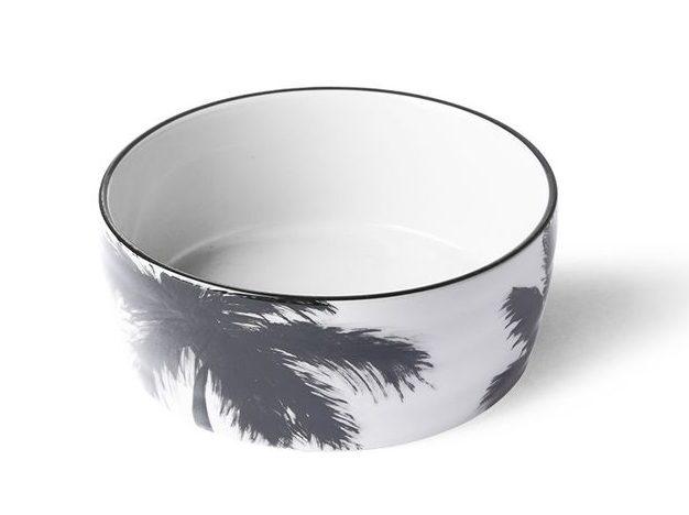 vaisselle avec palmiers