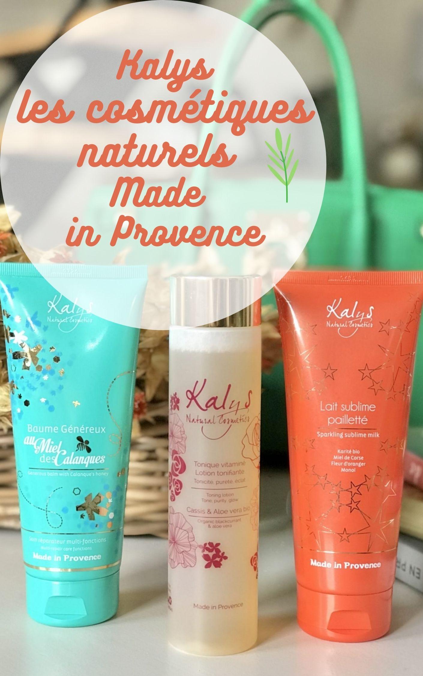 cosmétiques naturels fabriqués en provence